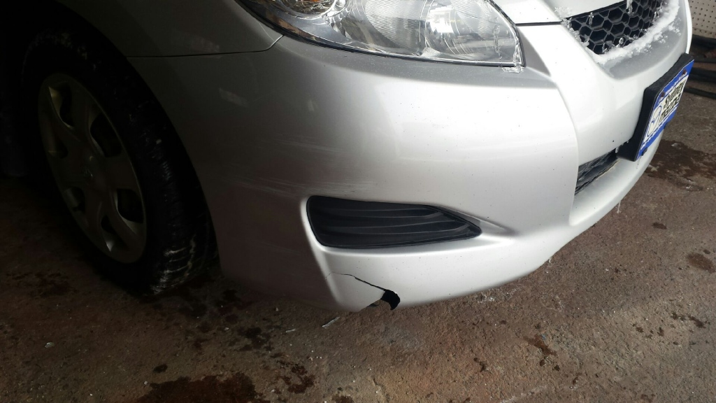 Cracked Bumpers Repaired by Martin - OnSite Nova Scotia