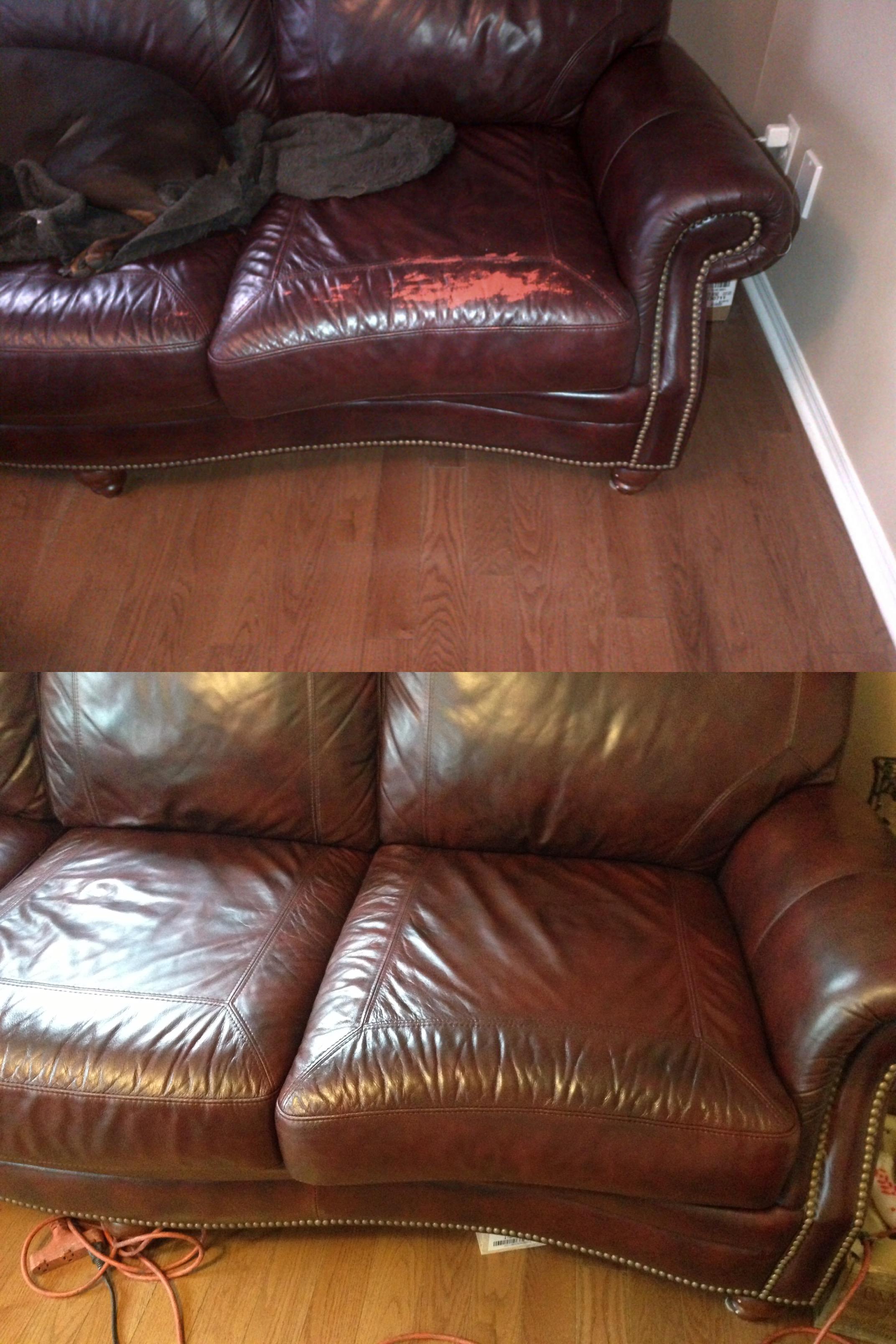 Leather Wear Redye